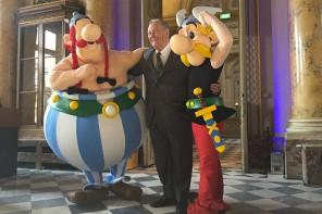 Asterix à la Monnaie de Paris